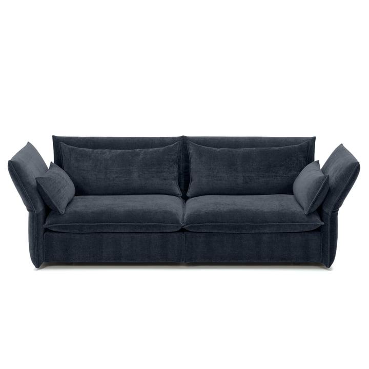 Vitra - Mariposa Sofa 2.5 seats, Iroko dark blue