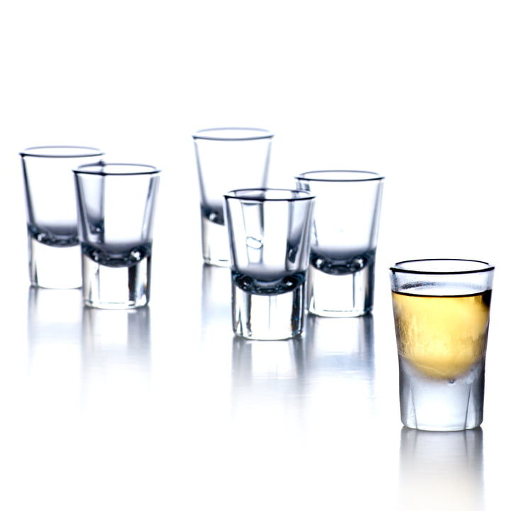Grand Cru shot glass (Set of 6) by Rosendahl