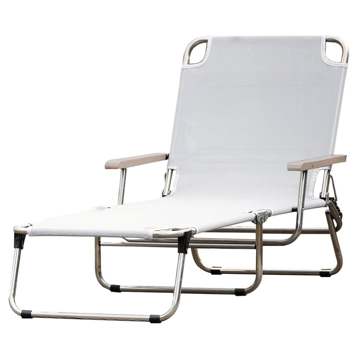 Amigo 40+ with armrest from Fiam in white