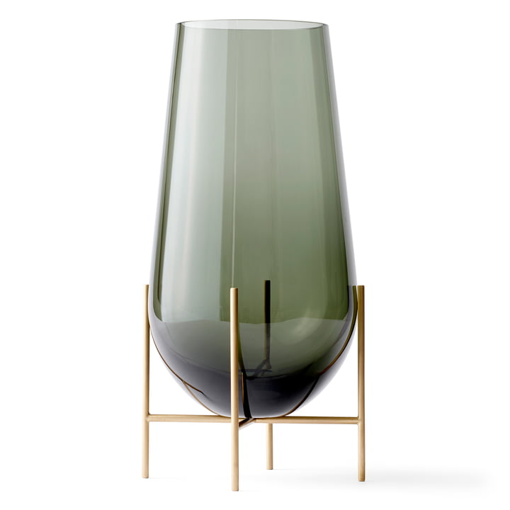 Smoky Échasse Vase from Menu