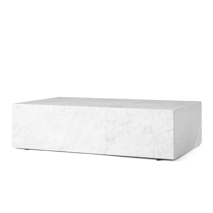 Plinth coffee table from Menu in white