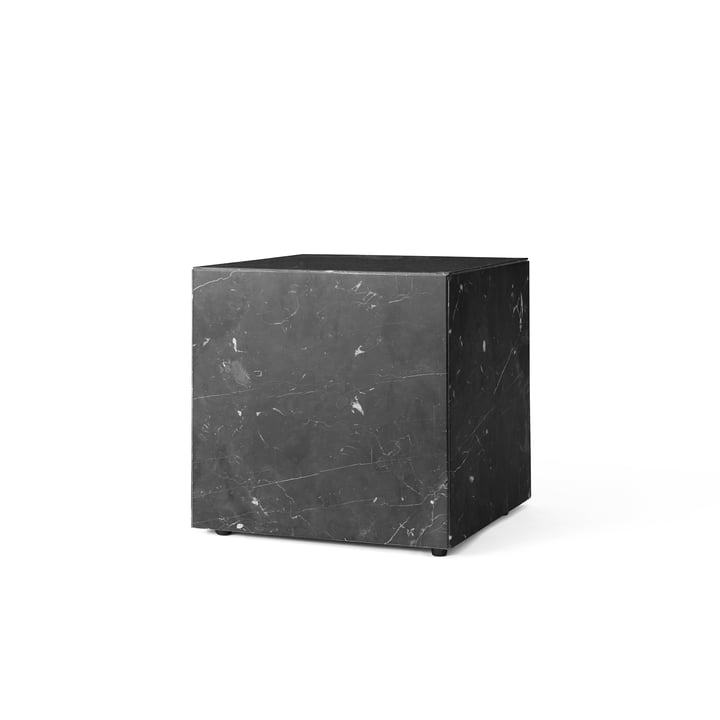Menu Plinth Cubic Side Table in black