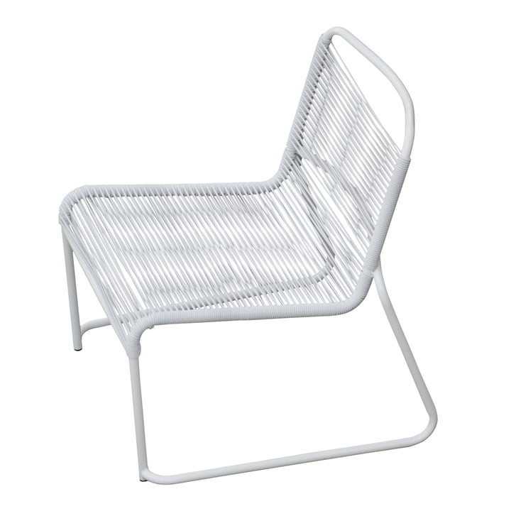 Lido Spaghetti Lounge Chair by Fiam in white