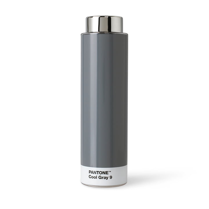 Drinking Bottle Tritan by Pantone in Cool Gray (9)