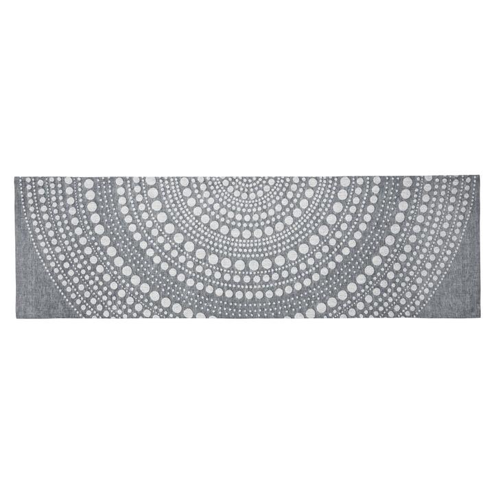 Kastehelmi Table Runner 44 x 144 cm by Iittala in dark grey