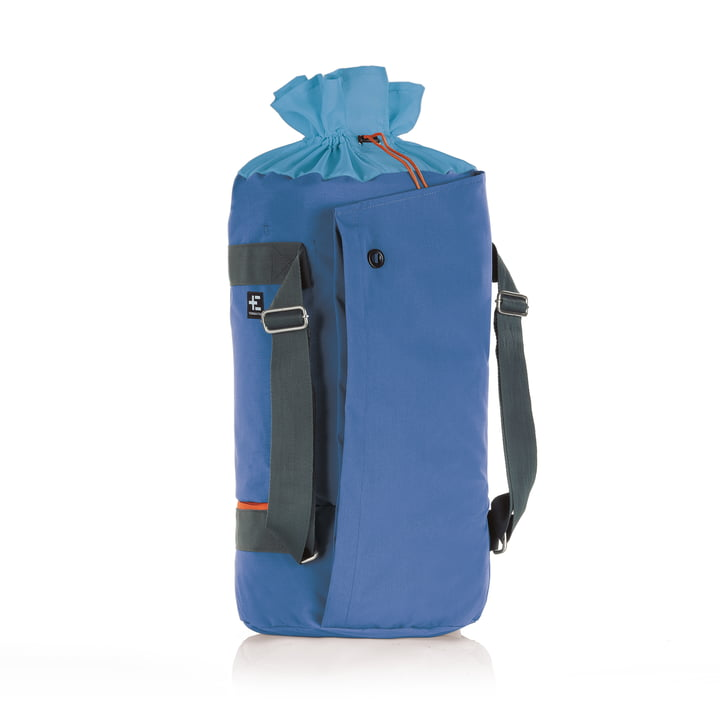 Hata Kopu Seesack beach bag by Terra Nation in blue