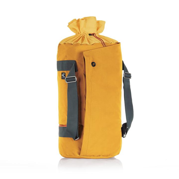 Hata Kopu Seesack beach bag by Terra Nation in yellow