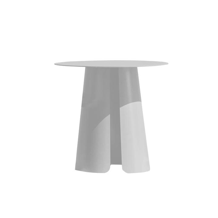 Feel side table Ø 50 cm by Jan Kurtz in white