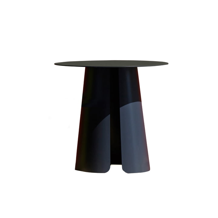 Feel side table Ø 50 cm by Jan Kurtz in anthracite