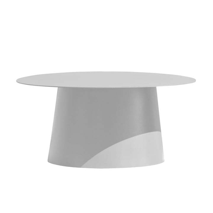 Feel side table Ø 80 cm by Jan Kurtz in white