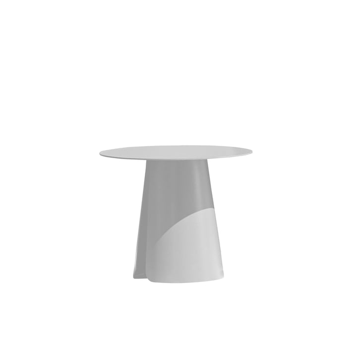 Feel side table Ø 40 cm by Jan Kurtz in white