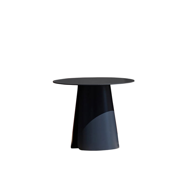 Feel side table Ø 40 cm by Jan Kurtz in anthracite