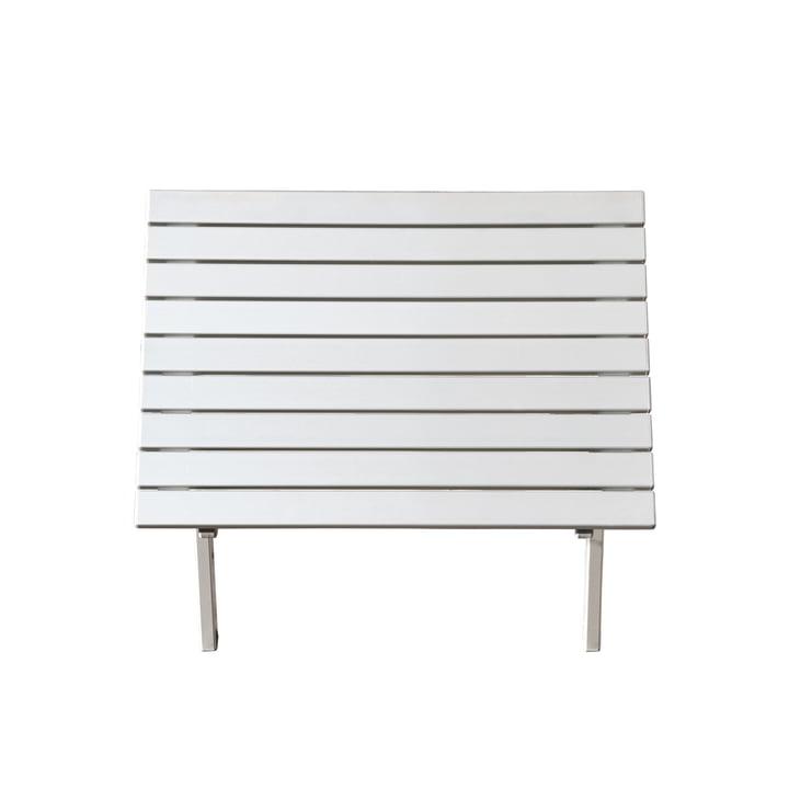 Feel Side Table small by Jan Kurtz in white