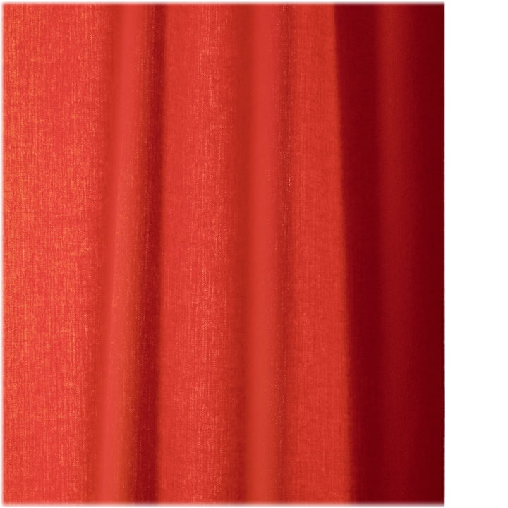 Ready Made Curtain Frozen by Kvadrat in red