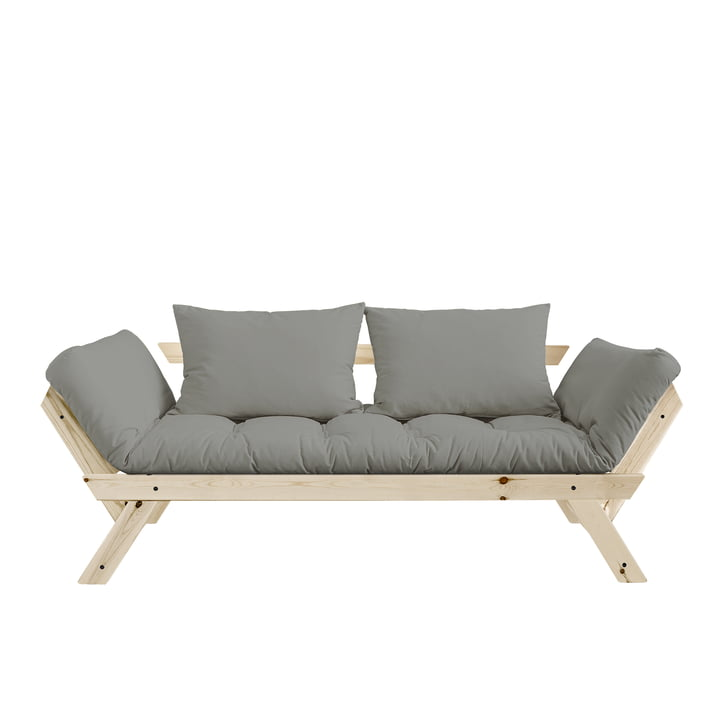 Bebop Sofa by Karup in natural pine/grey - 746