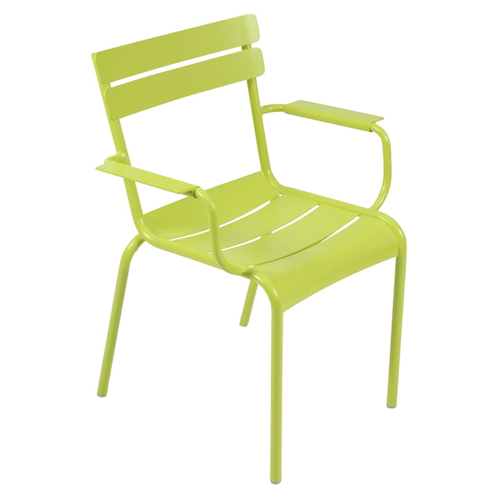 Luxembourg Chair by Fermob in verbena green