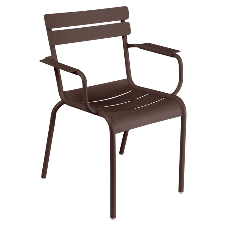 Luxembourg Chair by Fermob in russet
