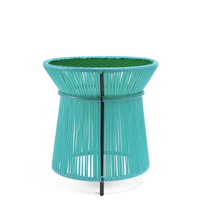 ames - caribe High Table, mint / green / black