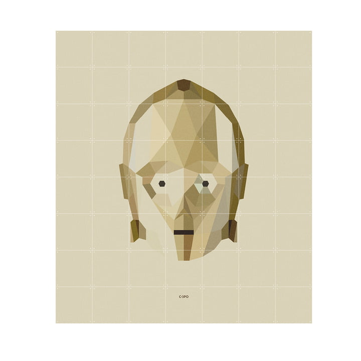 Star Wars Icon: C-3PO by IXXI in 140 x 160 cm