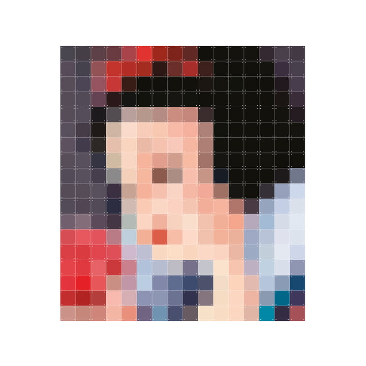 Snow White (pixel) by IXXI in 160 x 180 cm
