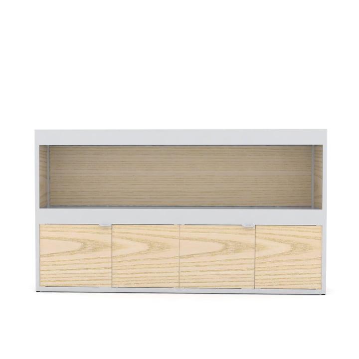 Hay - New Order Shelf Kitchen 150 x 90 cm, light gray / ash