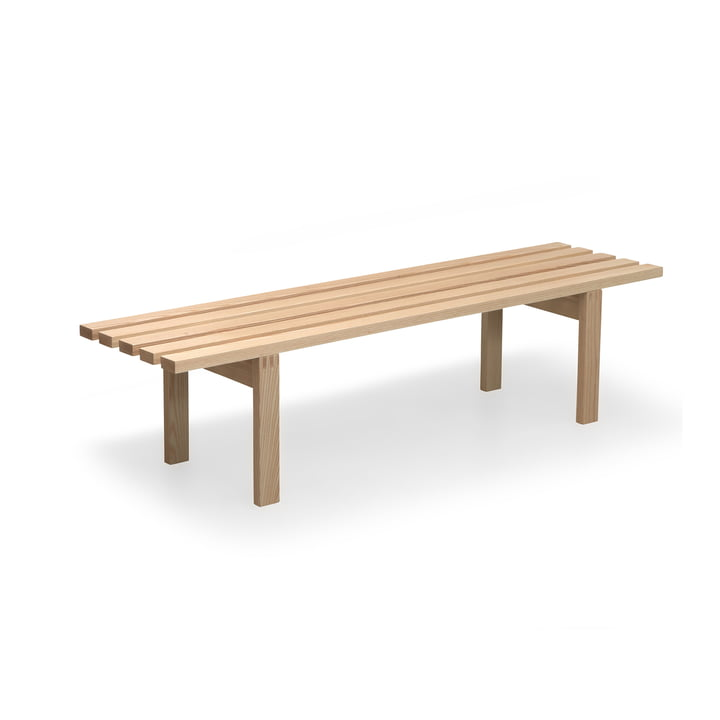 Spectrum - BZ bench 160 x 42 cm, matt lacquered ash wood
