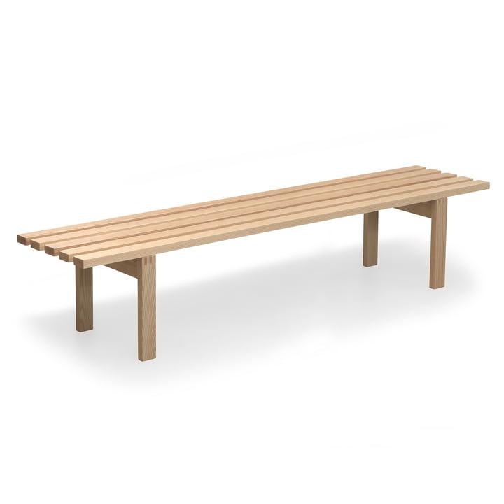 Spectrum - BZ bench 200 cm, ash wood matt lacquered