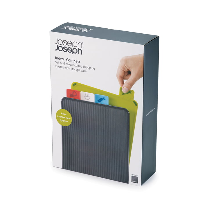 Index Compact Chopping Boards (set of 4) by Joseph Joseph
