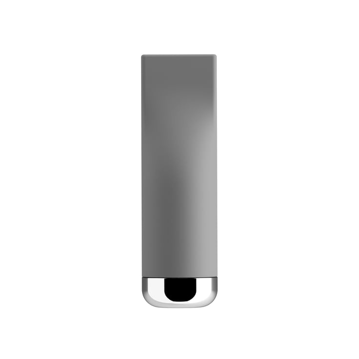 Pizzico Salt Caster by A di Alessi in gray