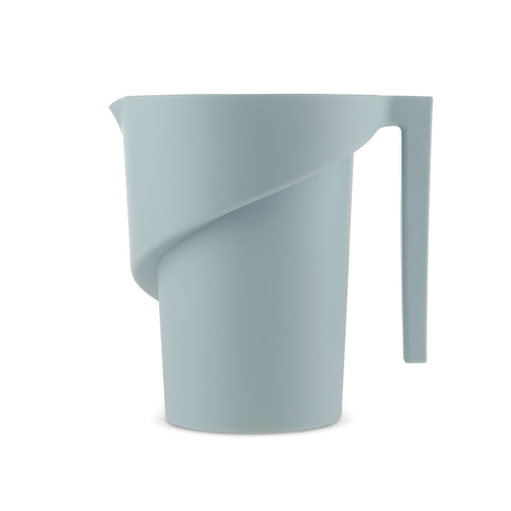 Twisted Measuring Cup by A di Alessi in light blue