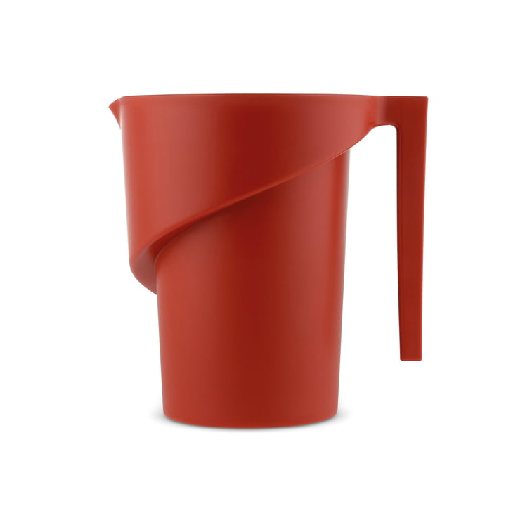 Twisted Measuring Cup by A di Alessi in red