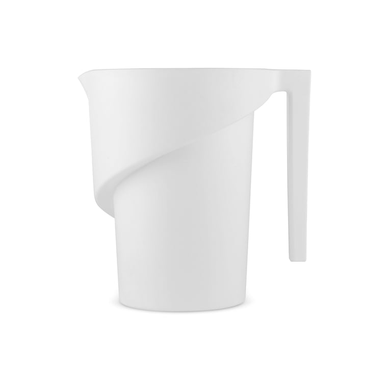 Twisted Measuring Cup by A di Alessi in white