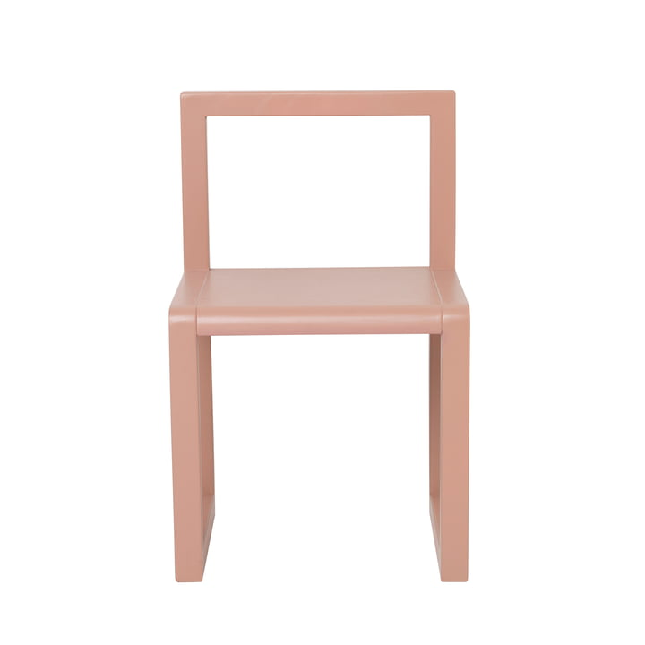 Little Architect Chair by ferm Living in pink