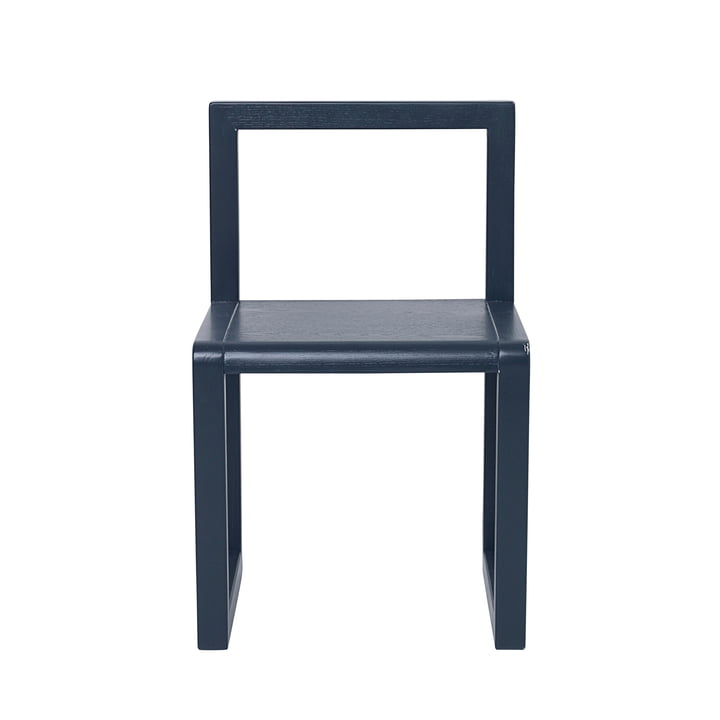 Little Architect Chair by ferm Living in dark blue