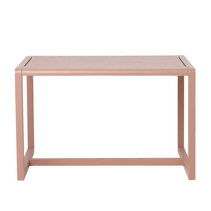 Little Architect table by ferm Living in Pink