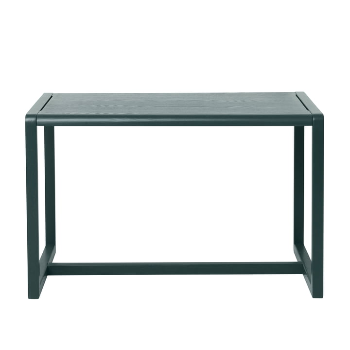 Little Architect Table by ferm Living in Dark Green