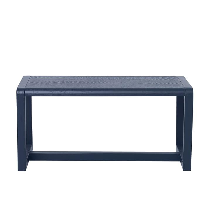 Little Architect Bench by ferm Living in Dark Blue