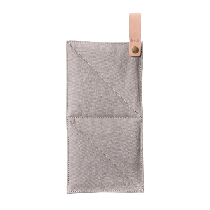 Canvas Pot Holder by ferm Living in gray