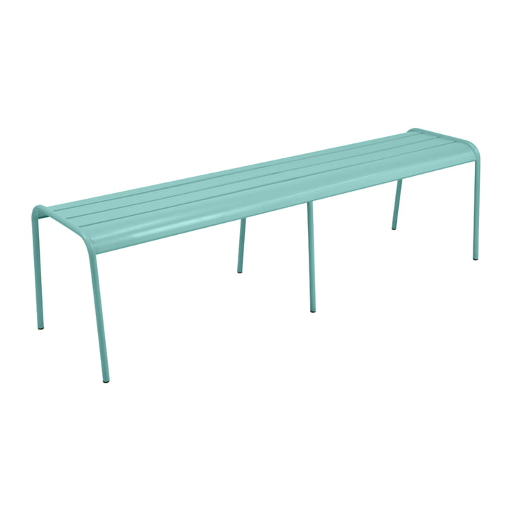 Fermob - Bank XL Monceau, Blue Lagoon (flat satin)