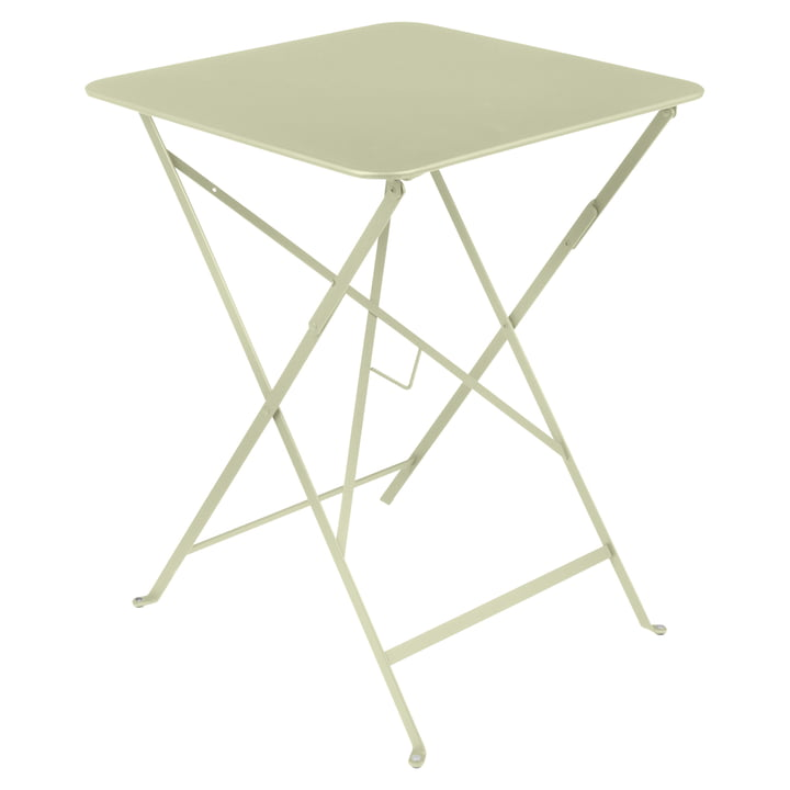 Fermob - Bistro Foldable Table, 57 x 57 cm, lime green