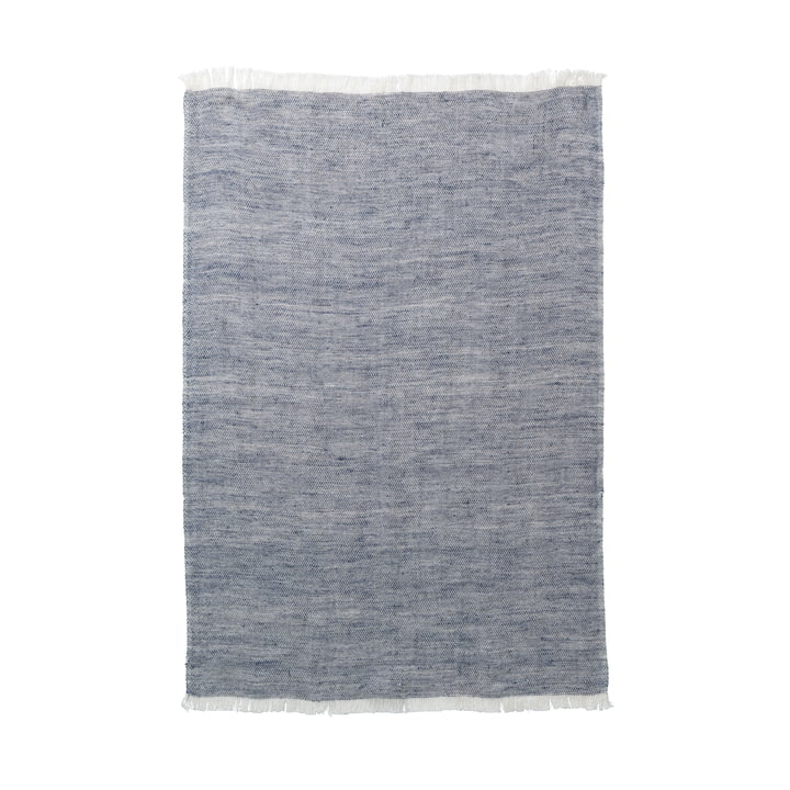 Blend tea towel by ferm Living in blue