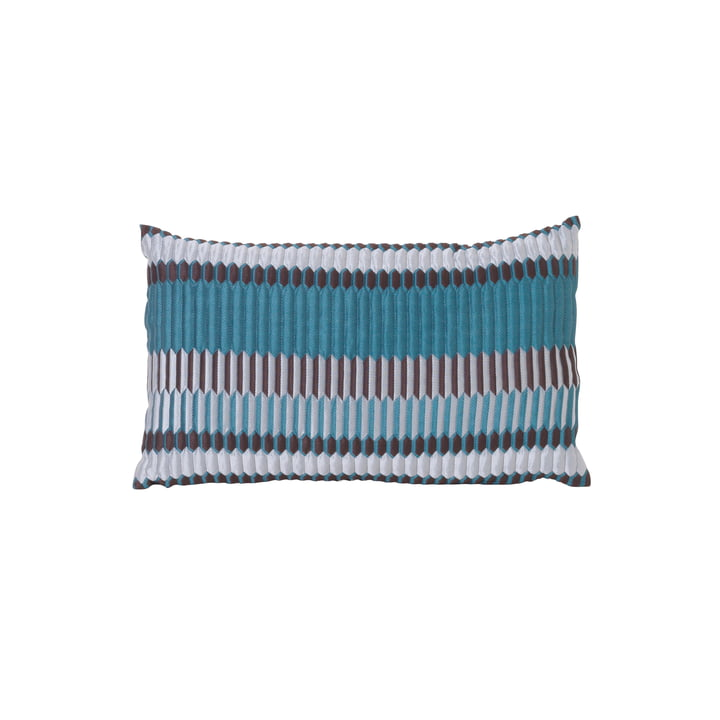 ferm Living - Salon Cushion Pleat 40 x 25 cm, sea