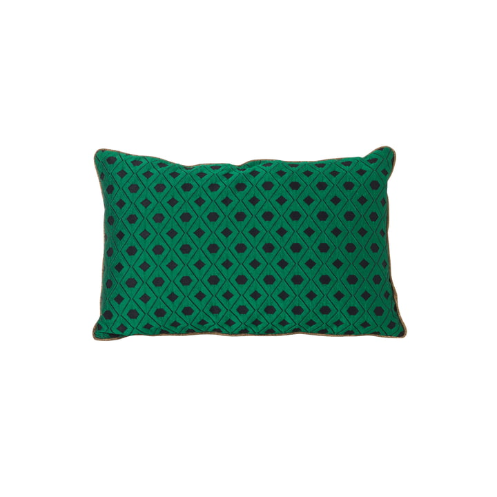 ferm Living - Salon Cushion Mosaic 40 x 25 cm, green
