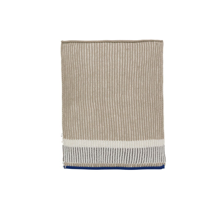 Akin Knitted Dishcloth by ferm living in beige