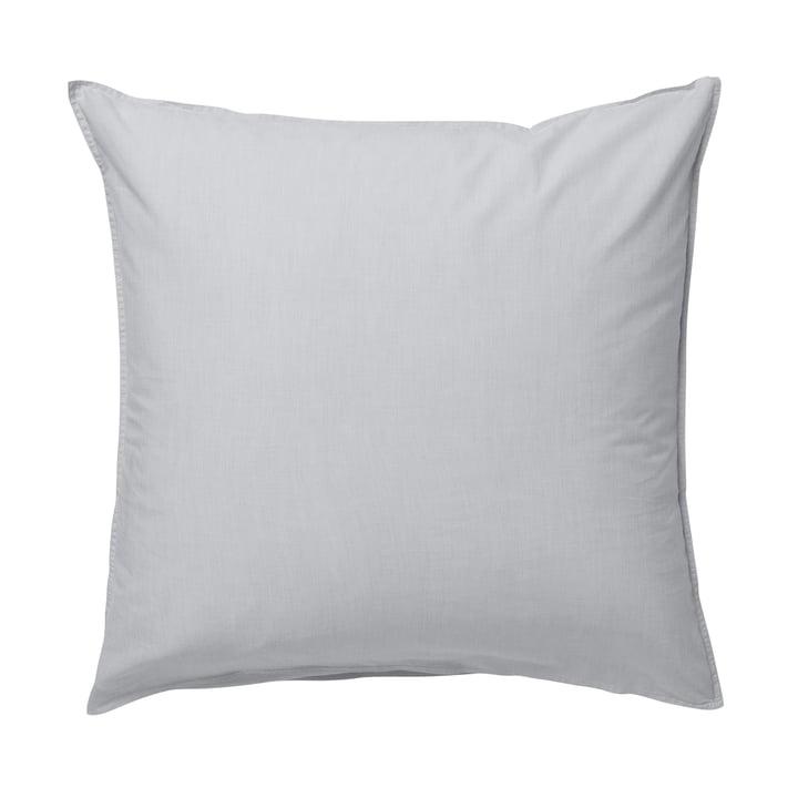 Hush pillowcase 80 x 80 cm by ferm Living in gray