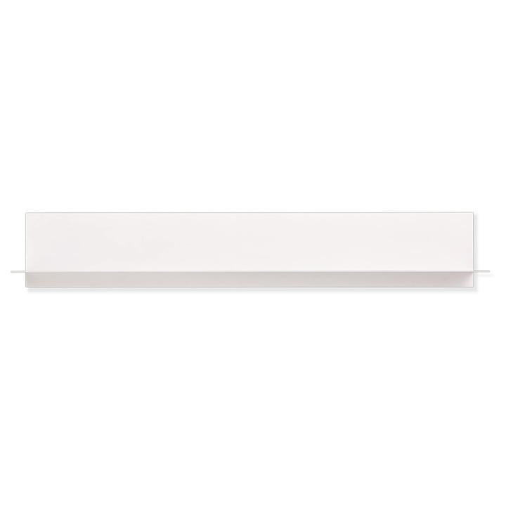 Single Paper Shelf long by Design Letters in white