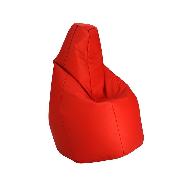 Sacco small by Zanotta in VIP red