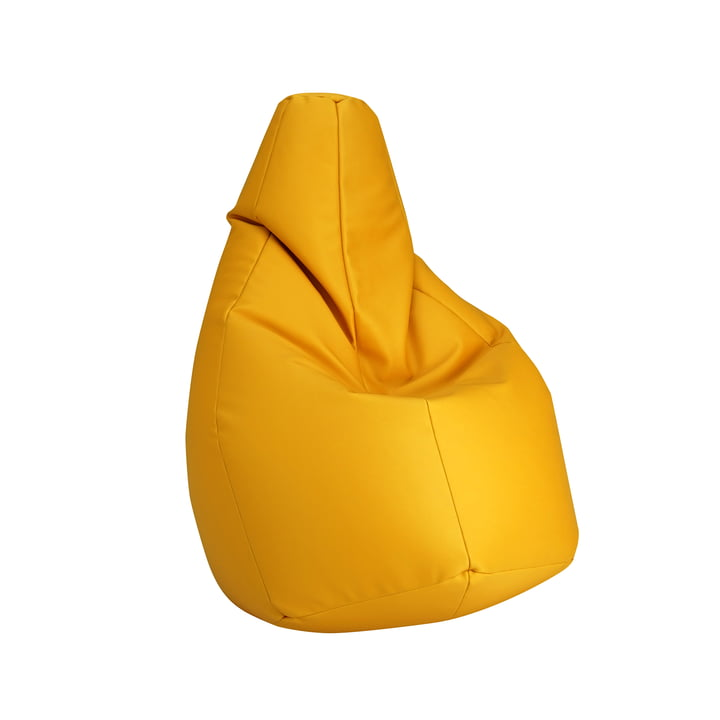 Sacco small by Zanotta in VIP yellow
