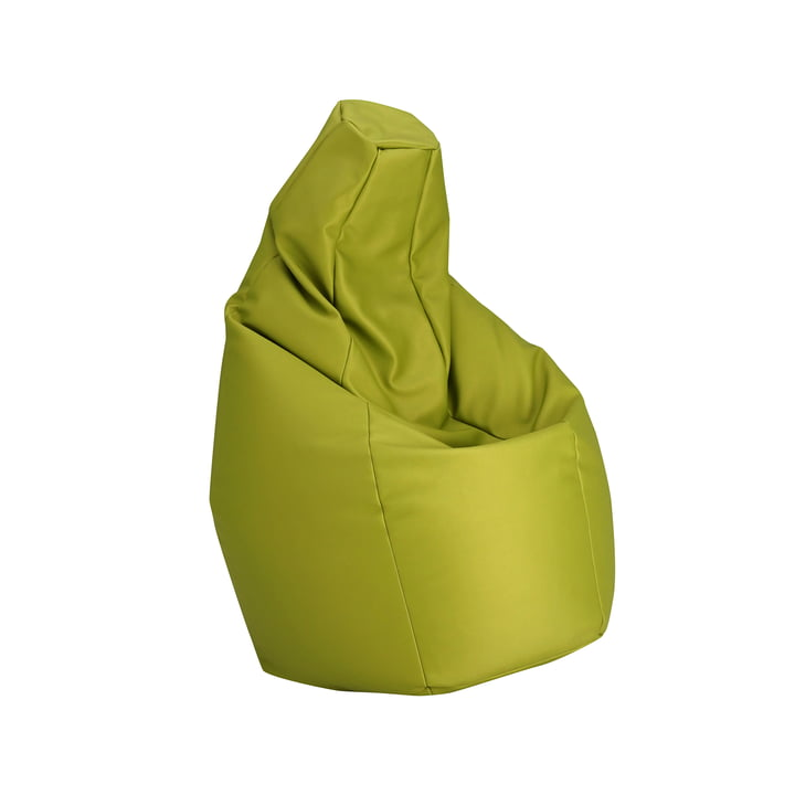 Sacco small by Zanotta in VIP green