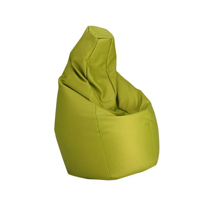 Sacco small by Zanotta in VIP green